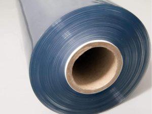 Skaidri PVC medžiaga – 0,65mm storio (Rulonas 30m)