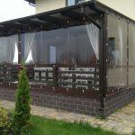PVC langai pavėsinėms ir terasoms: privalumai ir trūkumai