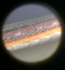 Pvc medžiagos mikroskopinis sluoksnis